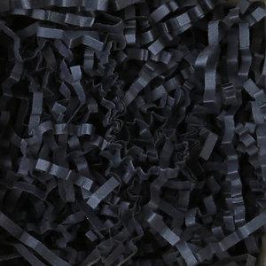 Levering uit voorraad Opvulmateriaal zigzag Zwart 10kg