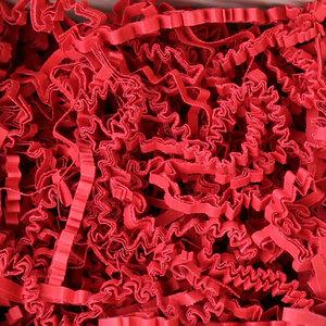 Levering uit voorraad Opvulmateriaal zigzag Rood 10kg