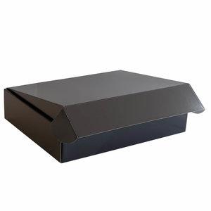 Levering uit voorraad 25x postdozen Zwart 350x280x80mm