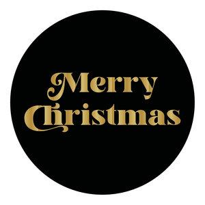 Levering uit voorraad 500x sticker 'Merry Christmas' 50mm