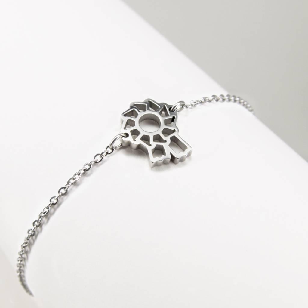 Bracelet with rosette