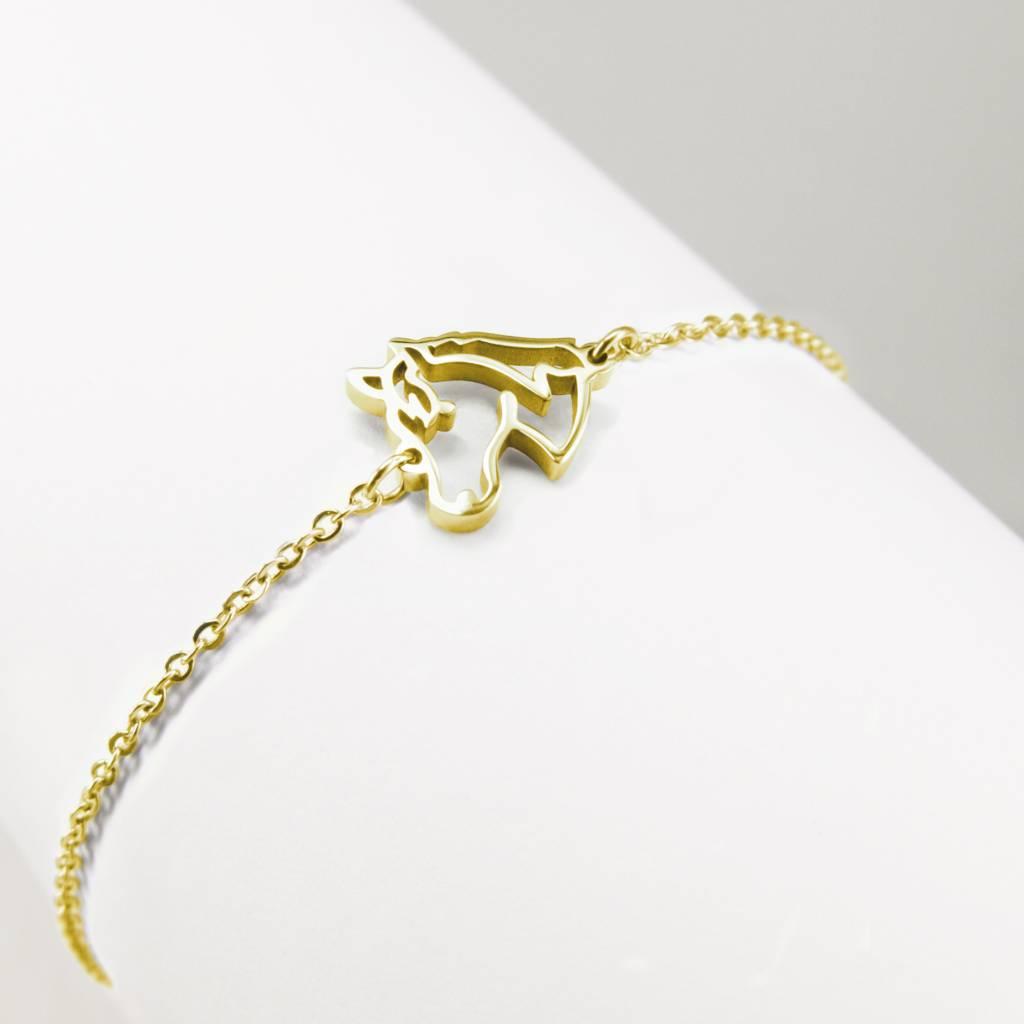 Armband met paardje