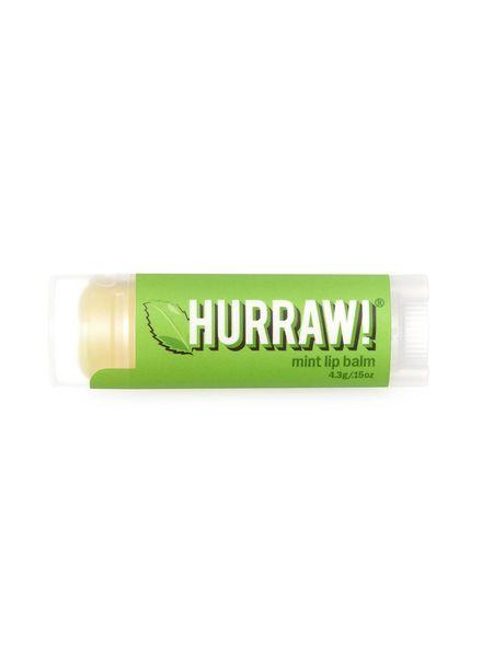 Hurraw!Balms Mint Lipbalm - 4,3gr