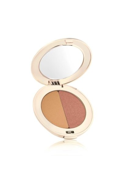 PurePressed Eye Shadow Duo - Golden Peach