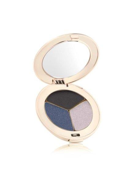 jane iredale PurePressed Eye Shadow Triple - Blue Hour