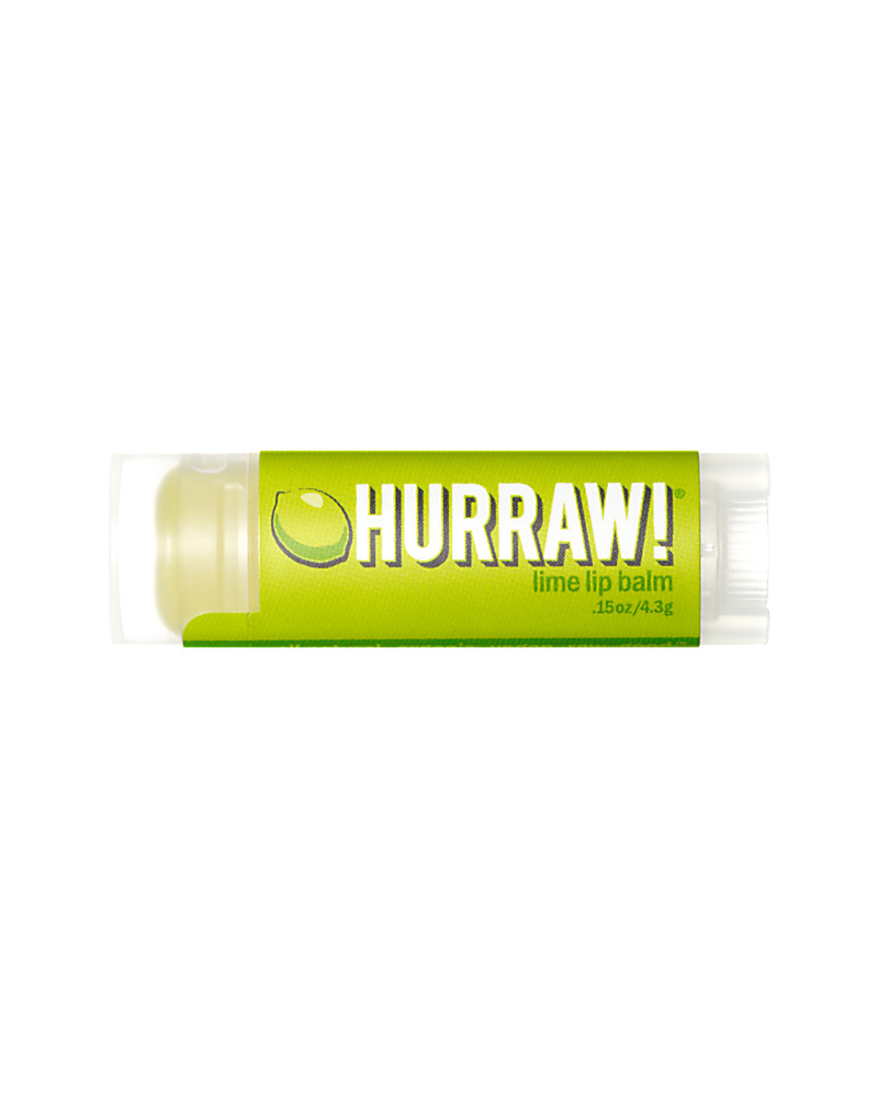 Hurraw!Balms Lime Lipbalm - 4,8gr
