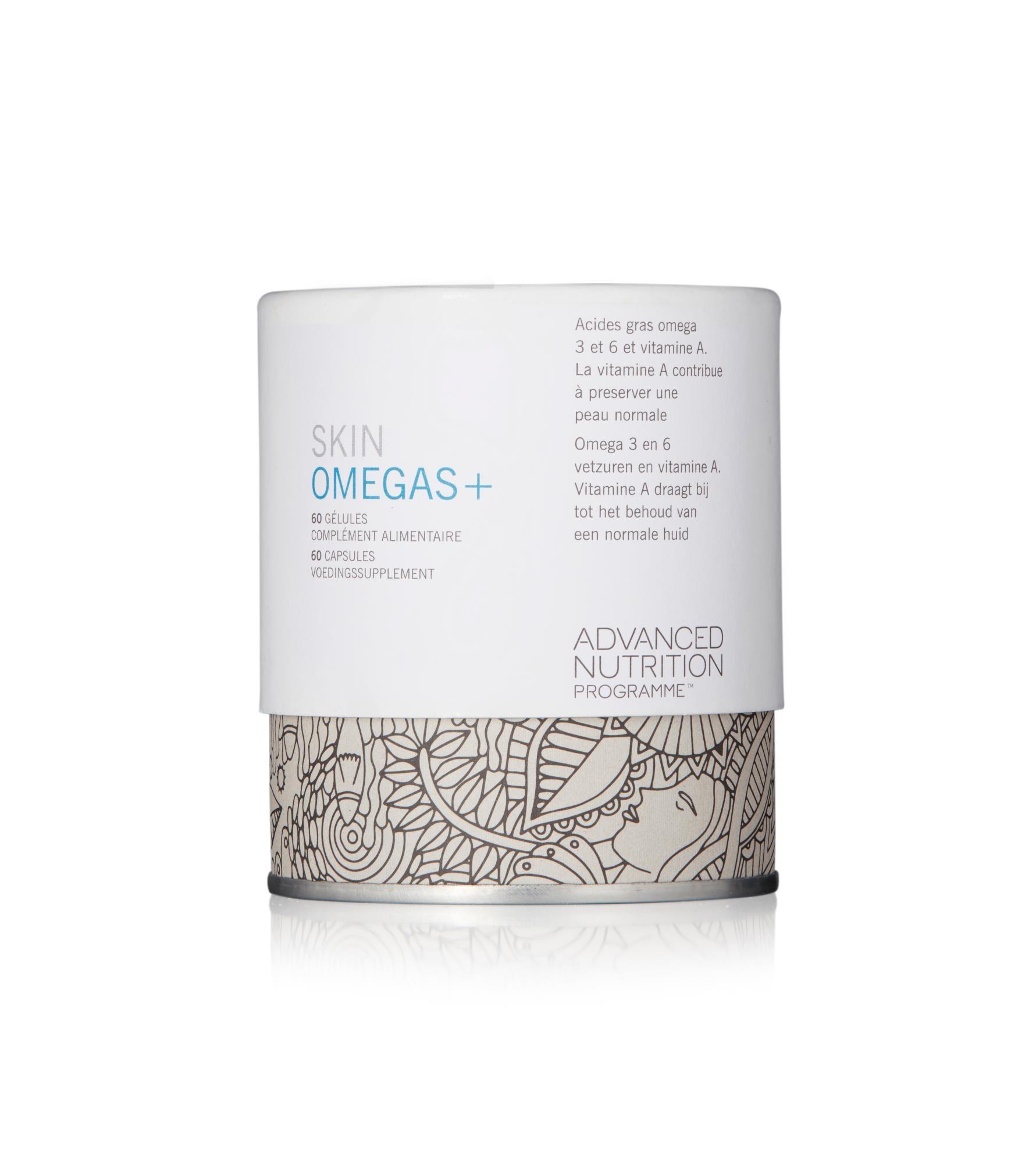 Skin Omegas+ - 60 caps-1