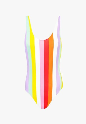 Daydream Striped Swimsuit