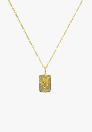 Palmtree Necklace - Gold