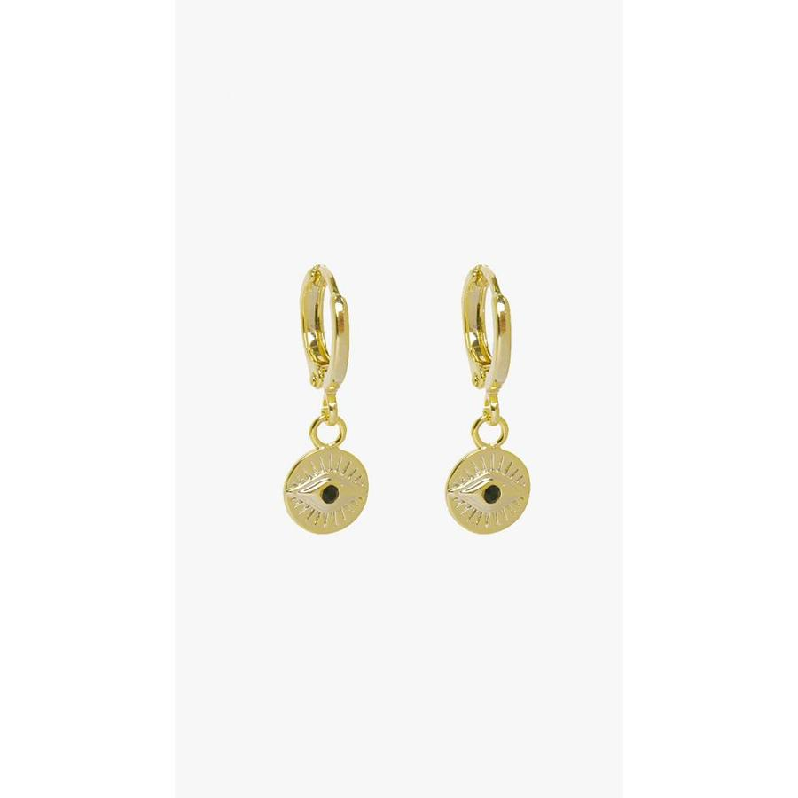 Eye Hoops Gold