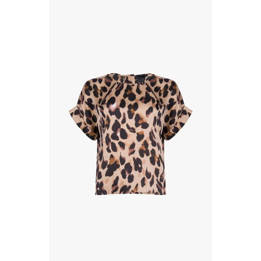 Top Lilou Leopard