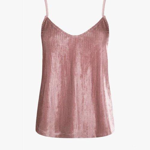Nova Pink Velvet Top