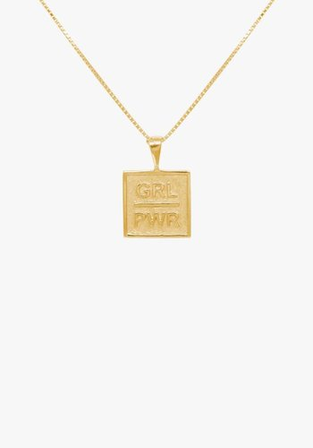 GRL Power Necklace Gold