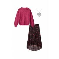 Fiolina Sweater Carbaret