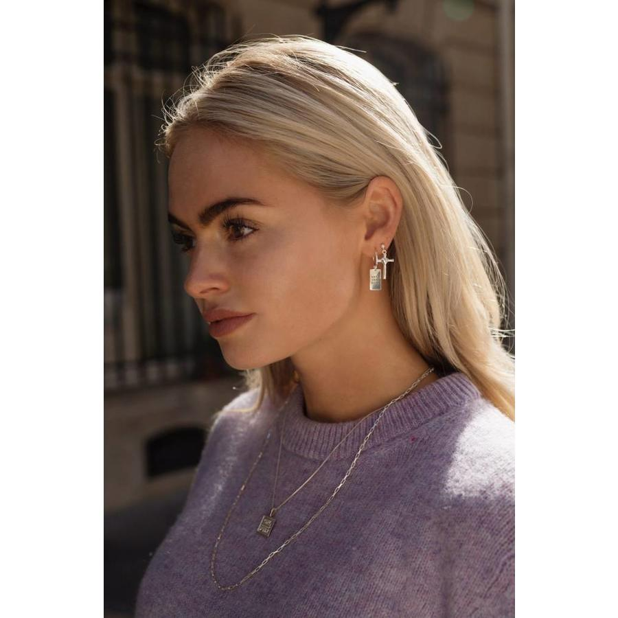 GRL Power Necklace Silver