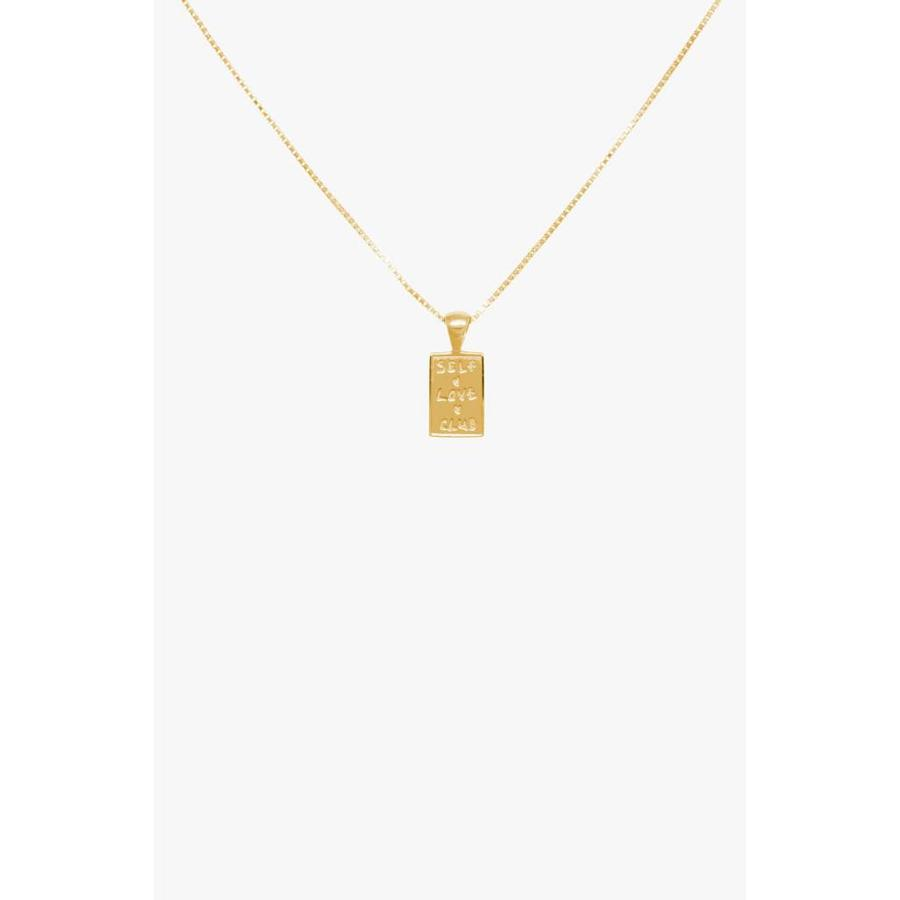 Self Love Club Necklace Gold