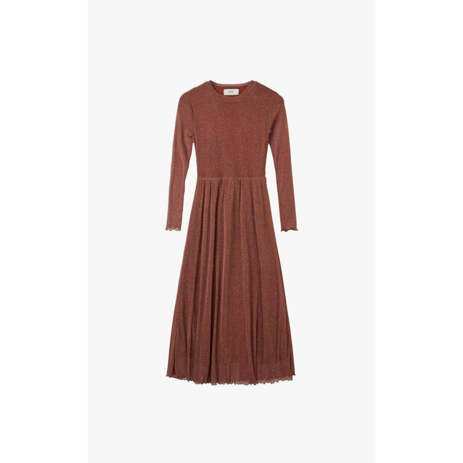 Miia Glitter Mesh Dress