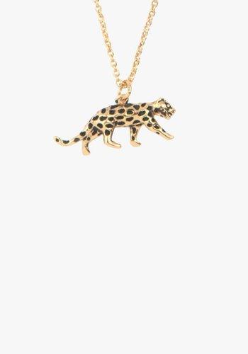 Souvenir Necklace Leopard