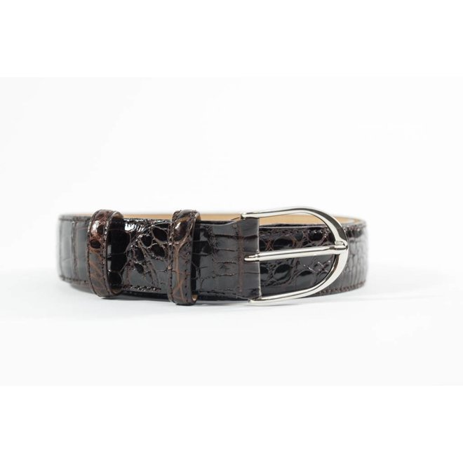 Alligator Belt High quality - Handmade