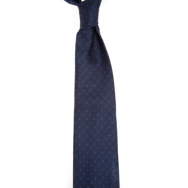 5 FOLD TIE UNLINED - GRENADINE -  HANDMADE IN ITALY