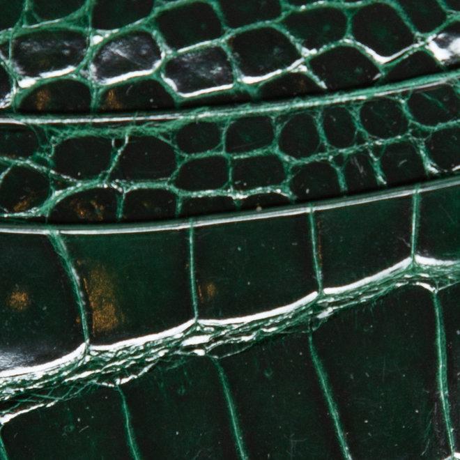Cardholder - high quality alligator - Handmade
