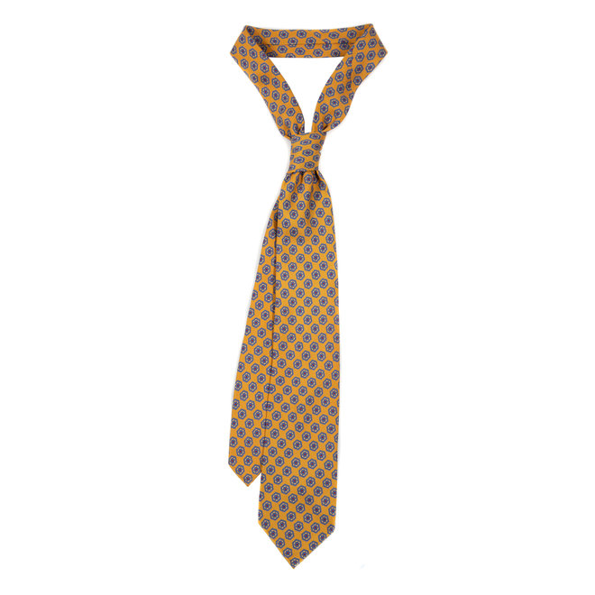 5 FOLD TIE UNLINED - PURE SILK -  HANDMADE IN ITALY   - Copy