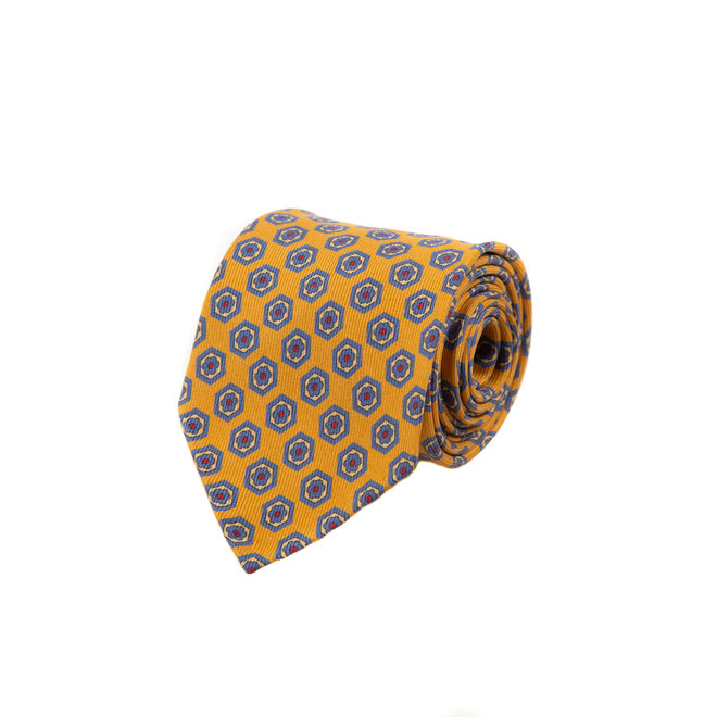 5 FOLD TIE UNLINED  - PURE SILK