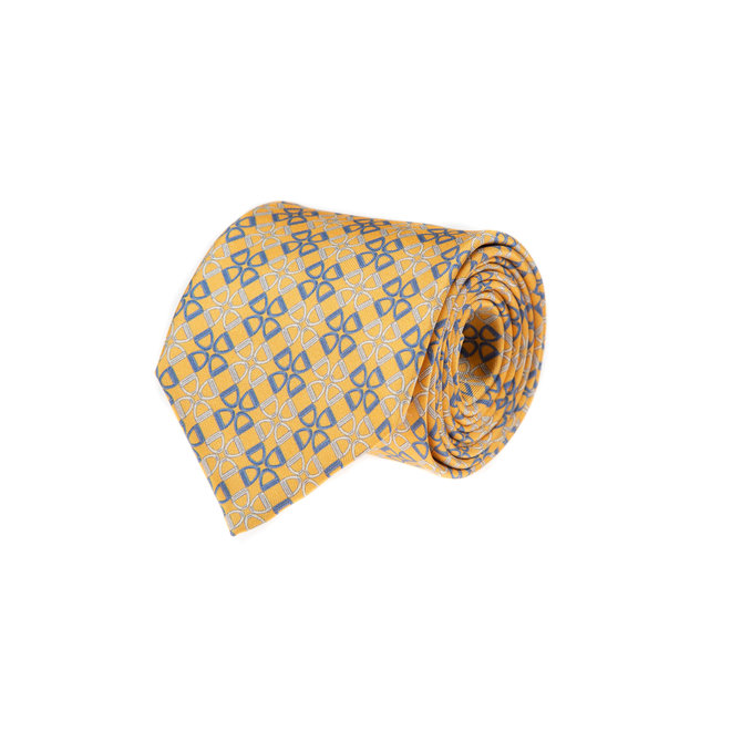 3 FOLD TIE LINED  - PURE SILK
