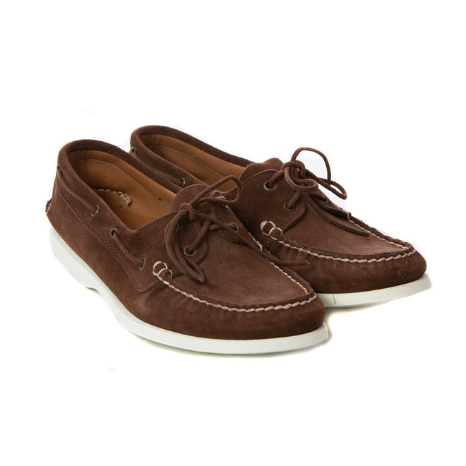Boatshoes suede - Made in Italy