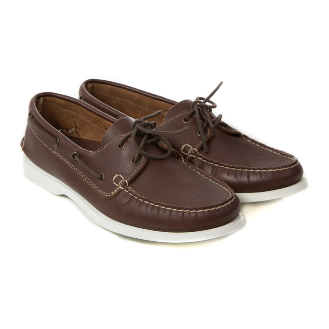 Boatshoes leather - Made in Italy