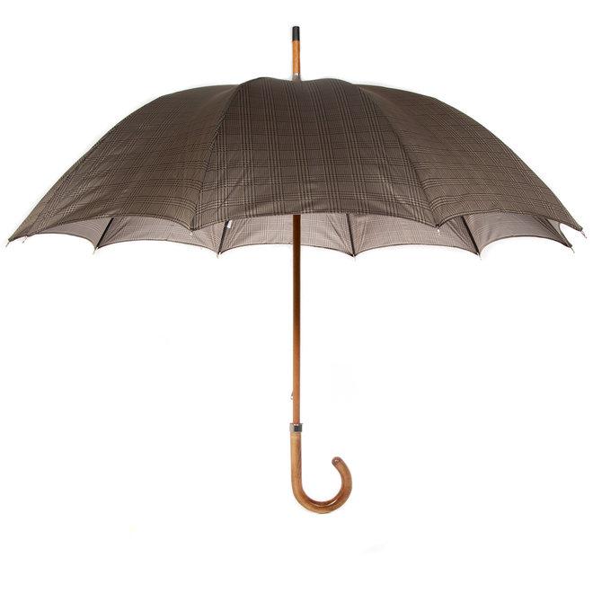 Classic Umbrella, Wooden Handle  Manual Opening