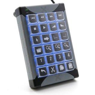 P.I. Engineering X-keys XK-24 Programmierbare Tastatur USB