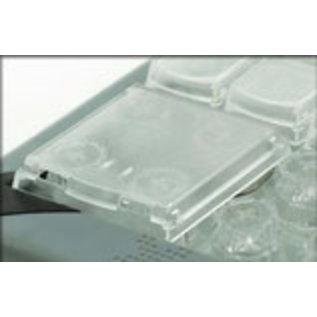 Transparente Quad-Taste (1 Stück)