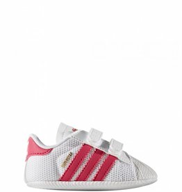 ADIDAS SUPERSTAR CRIB WHITE/PINK