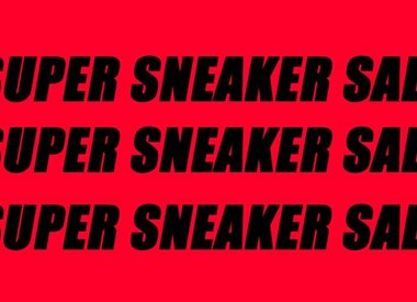 SUPER SNEAKER SALE