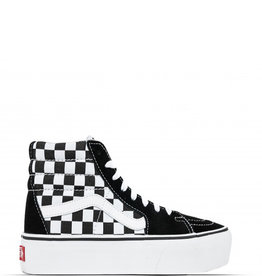 vans sk8-hi platform 2.0 checkerboard dames