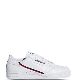 ADIDAS CONTINENTAL 80 WHITE/SCARLET/COLLEGATE NAVY