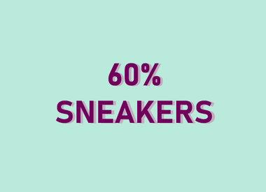 60% SNEAKERS