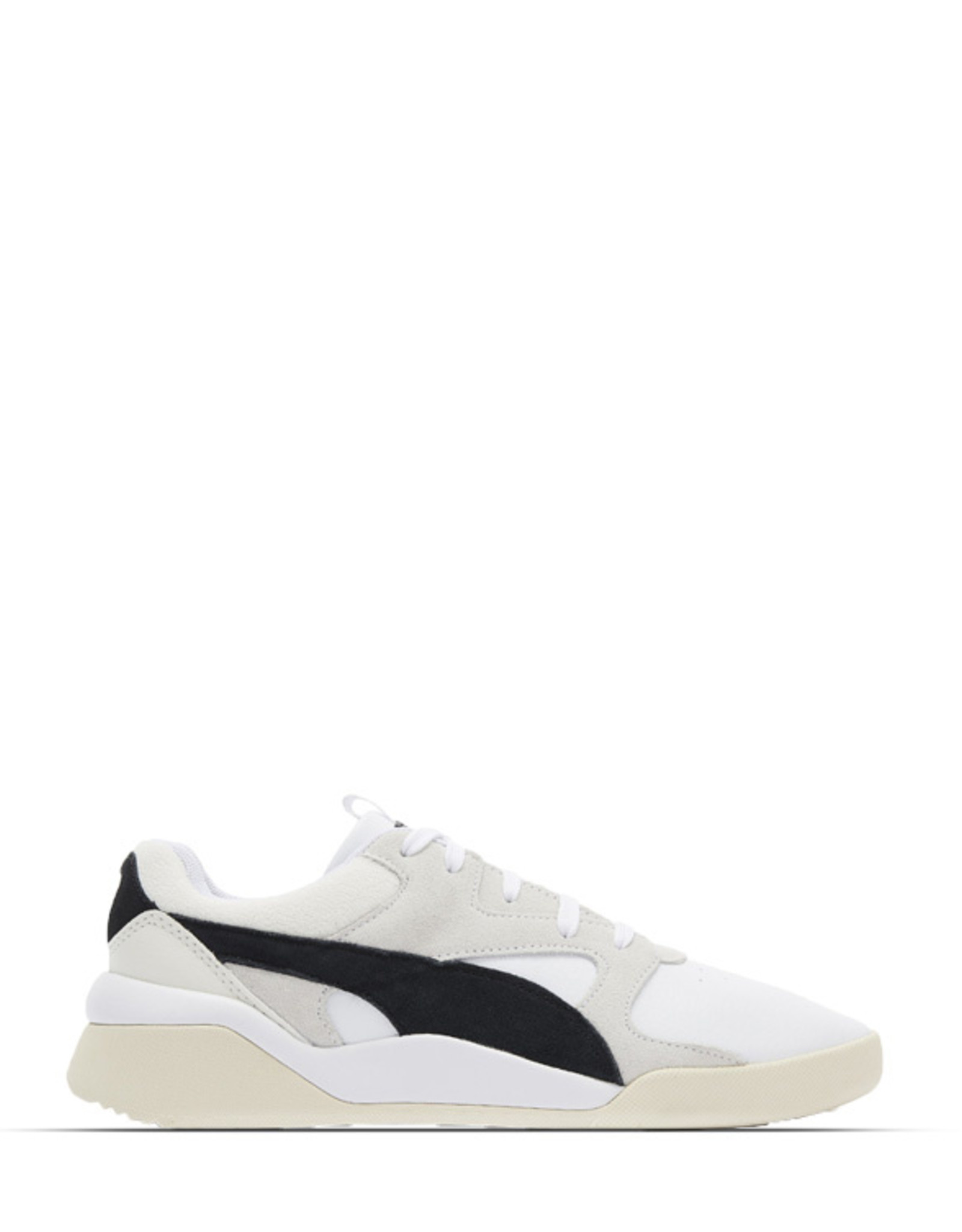 PUMA HERITAGE WHITE BLACK TRAINERS