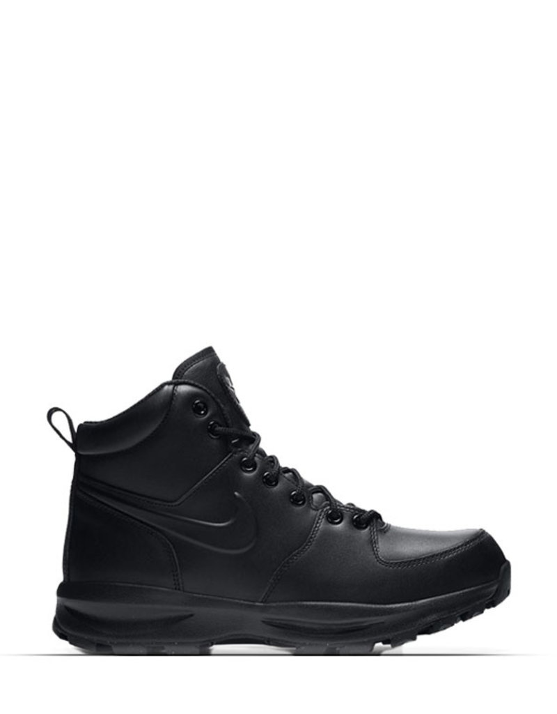 NIKE MANO LEATHER BLACK BOOT