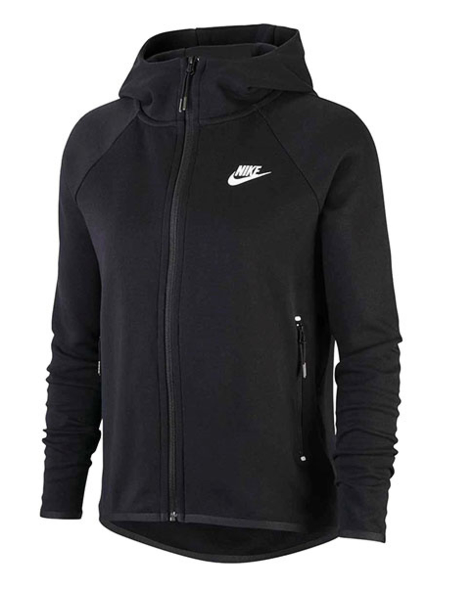 NIKE WMNS TECH FLEECE JACKET - BLACK