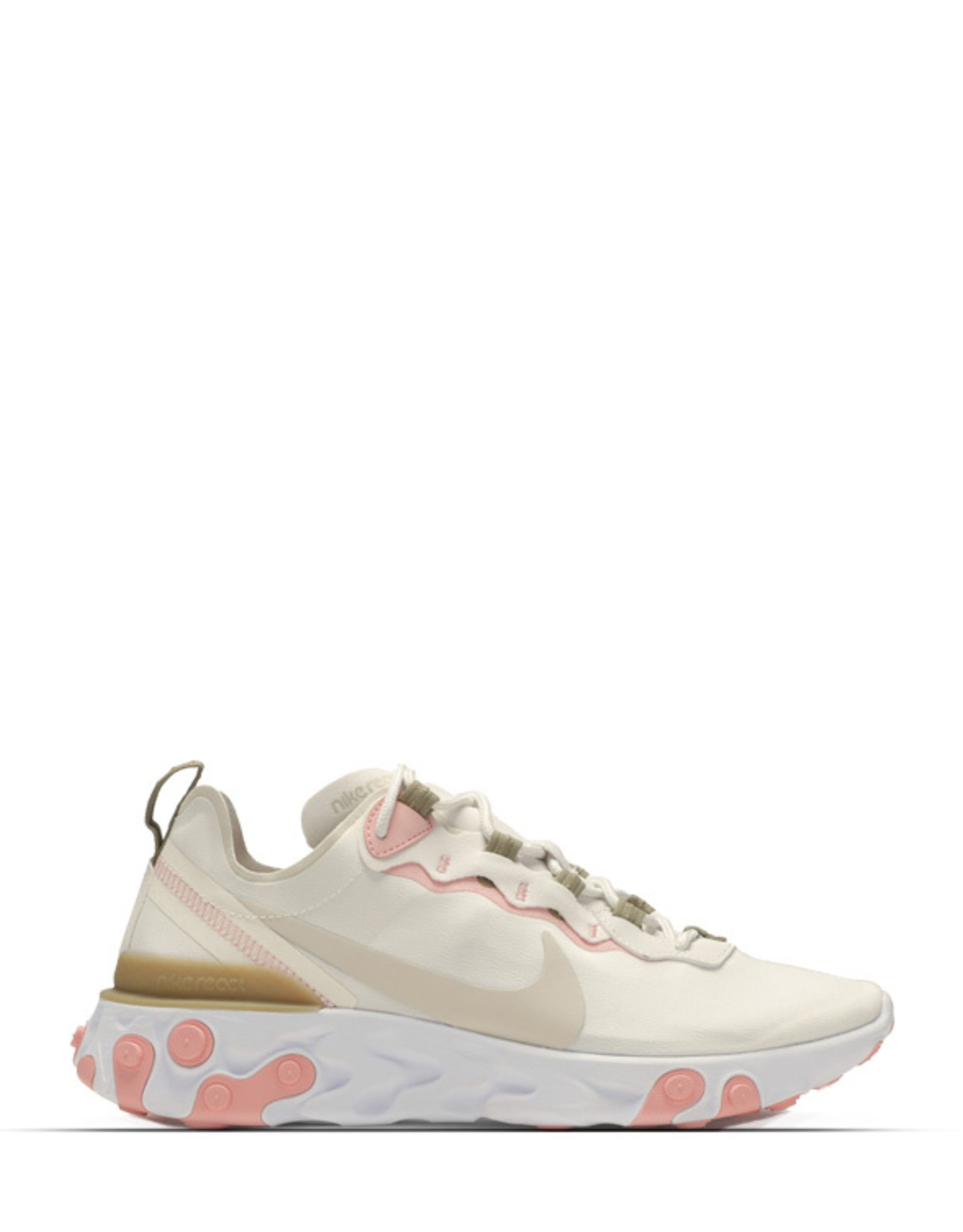 NIKE REACT ELEMENT 55 PHANTOM SOFT PINK NUDES