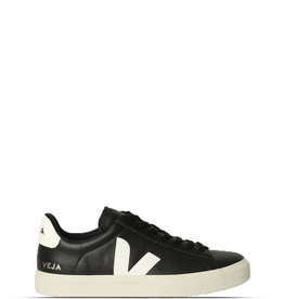 VEJA CAMPO EASY LEATHER - BLACK / WHITE