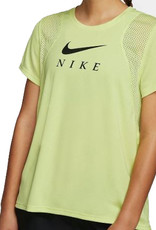 NIKE SHORT SLEEVE GRAPHIC TOP - YELLOW