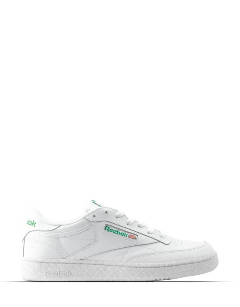 REEBOK CLUB C 85 WHITE GREEN HINT