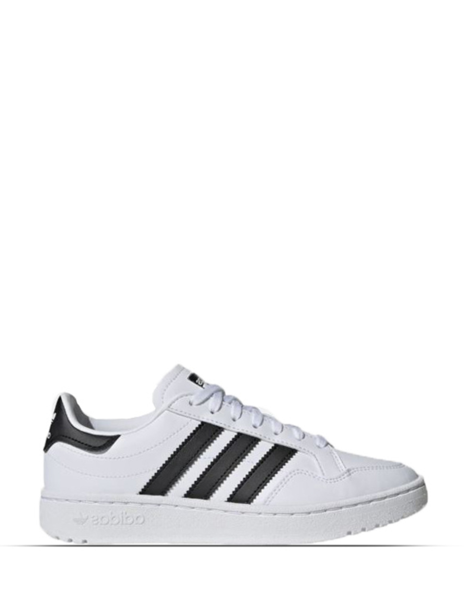 ADIDAS TEAM COURT JUNIOR BLACK WHITE