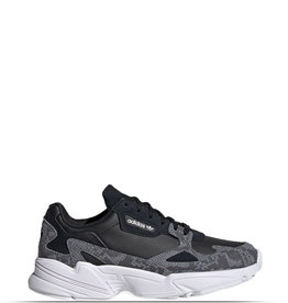 ADIDAS FALCON BLACK WHITE GREY PRINT