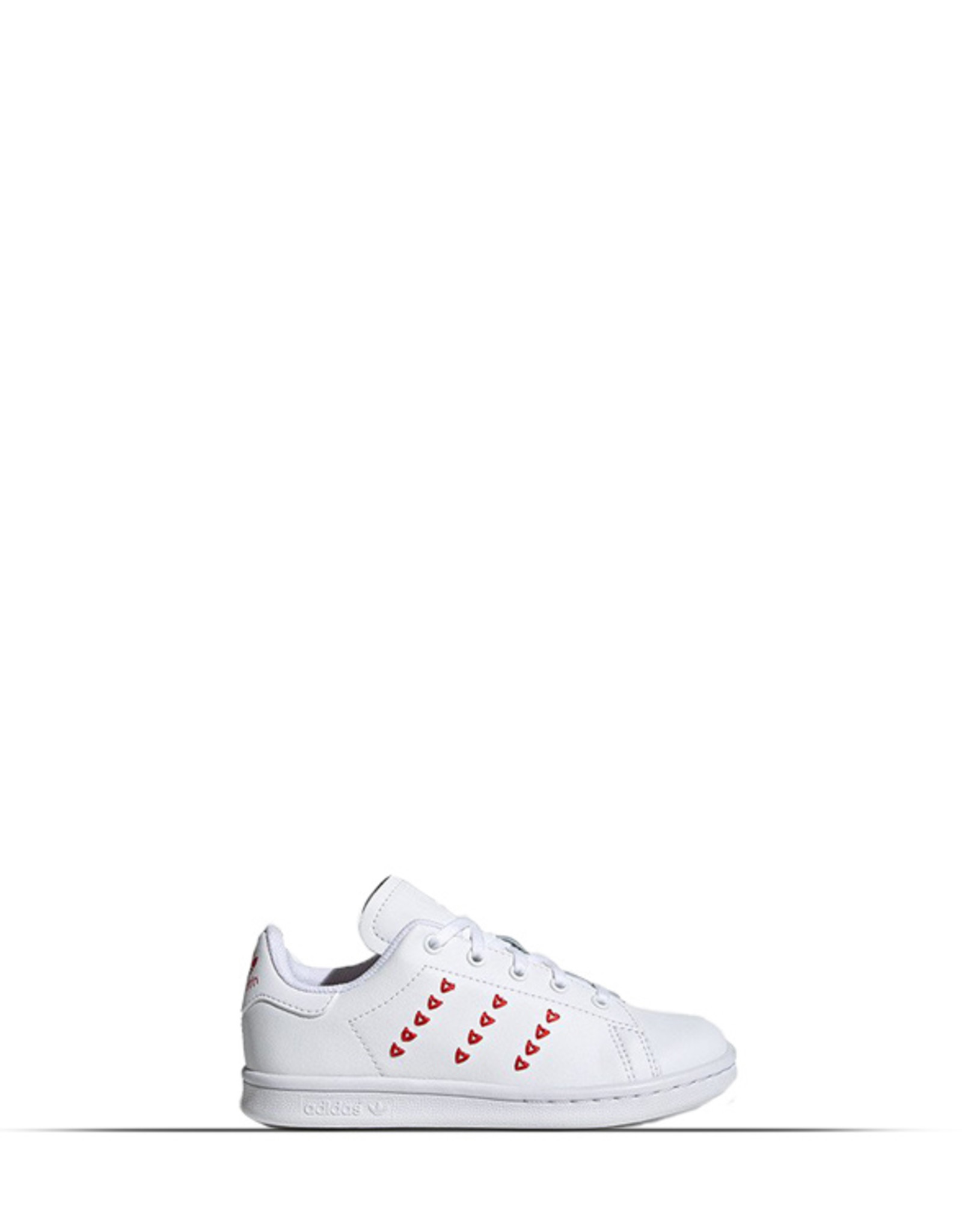 ADIDAS STAN SMITH WHITE CLOUD LUSH RED KIDS YOUTH