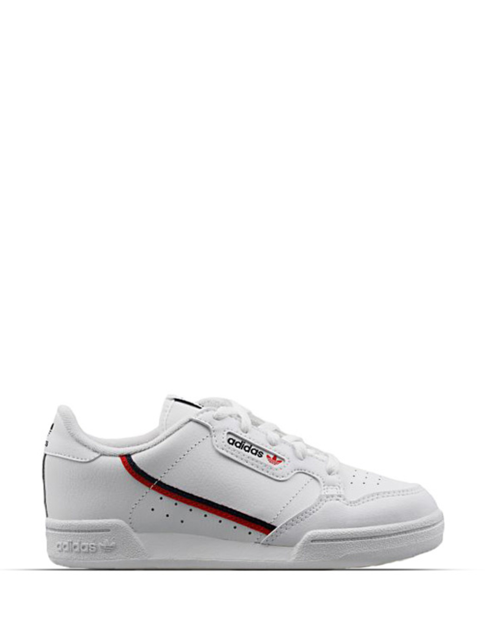 ADIDAS CONTINENTAL 80 WHITE SCARLET RED YOUTH
