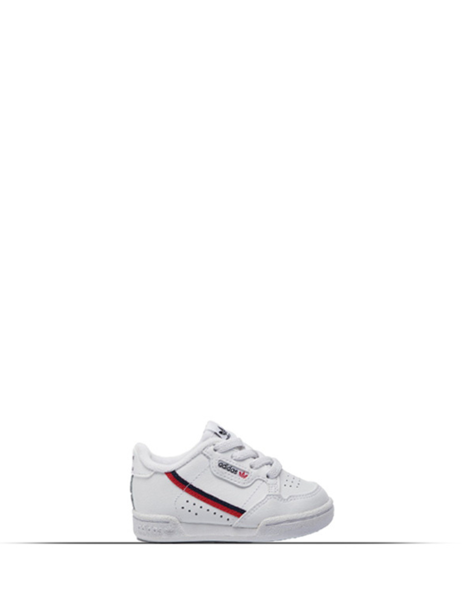 ADIDAS CONTINENTAL 80 WHITE CLOUD SCARLET RED KIDS MINI